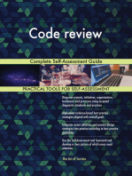 Code review Complete Self-Assessment Guide