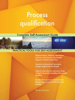 Process qualification Complete Self-Assessment Guide
