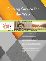 Catalog Service for the Web Standard Requirements