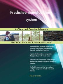Predictive manufacturing system A Clear and Concise Reference