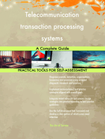 Telecommunication transaction processing systems A Complete Guide