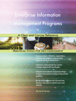 Enterprise Information Management Programs A Clear and Concise Reference