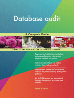 Database audit A Complete Guide