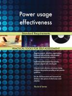 Power usage effectiveness Standard Requirements