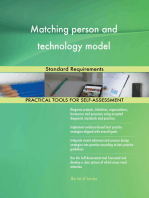 Matching person and technology model Standard Requirements