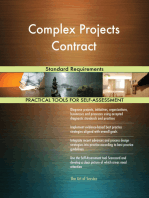 Complex Projects Contract Standard Requirements