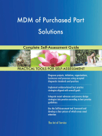 MDM of Purchased Part Solutions Complete Self-Assessment Guide