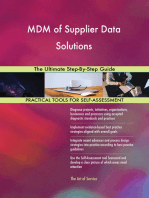 MDM of Supplier Data Solutions The Ultimate Step-By-Step Guide
