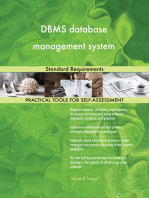 DBMS database management system Standard Requirements