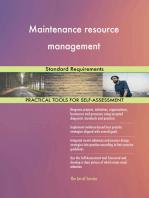Maintenance resource management Standard Requirements
