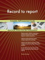 Record to report Complete Self-Assessment Guide