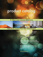 product catalog A Clear and Concise Reference