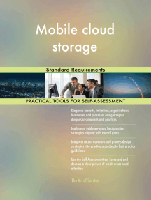 Mobile cloud storage Standard Requirements