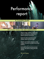 Performance report A Complete Guide