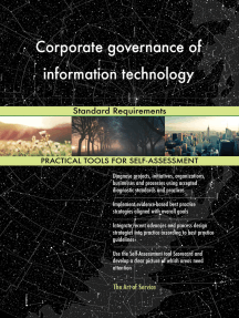Corporate governance of information technology Standard Requirements