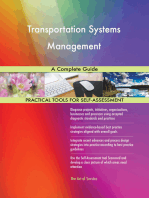 Transportation Systems Management A Complete Guide