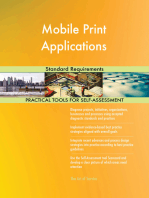 Mobile Print Applications Standard Requirements