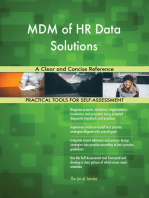 MDM of HR Data Solutions A Clear and Concise Reference