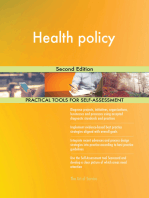 Health policy Second Edition