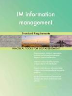 IM information management Standard Requirements