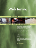 Web testing Standard Requirements