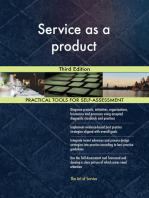Service as a product Third Edition