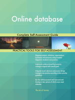 Online database Complete Self-Assessment Guide