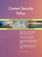 Content Security Policy Complete Self-Assessment Guide