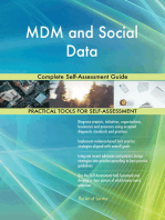 MDM and Social Data Complete Self-Assessment Guide