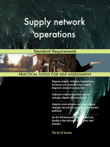 Supply network operations Standard Requirements