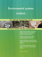 Environmental systems analysis The Ultimate Step-By-Step Guide