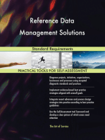 Reference Data Management Solutions Standard Requirements