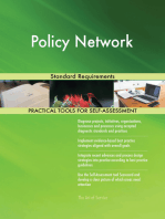 Policy Network Standard Requirements