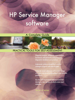 HP Service Manager software A Complete Guide