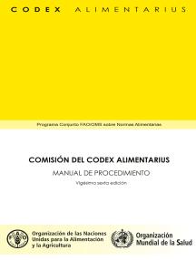 Comisión del Codex Alimentarius: Manual de Procedimiento 26 edicion