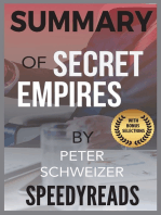 Summary of Secret Empires by Peter Schweizer