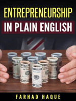 Entrepreneurship in Plain English