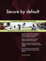 Secure by default Complete Self-Assessment Guide
