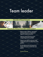 Team leader Standard Requirements