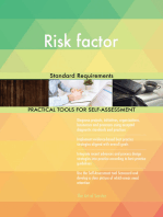 Risk factor Standard Requirements