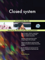 Closed system A Complete Guide