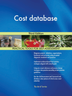 Cost database Third Edition