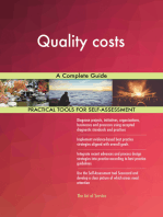 Quality costs A Complete Guide