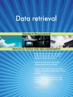 Data retrieval Standard Requirements