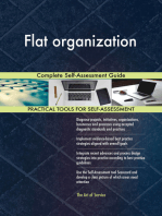 Flat organization Complete Self-Assessment Guide