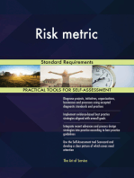 Risk metric Standard Requirements