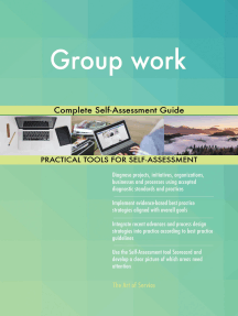 Group work Complete Self-Assessment Guide