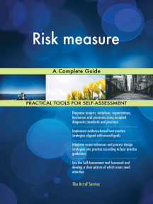 Risk measure A Complete Guide