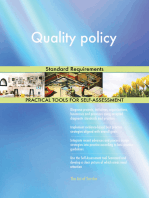 Quality policy Standard Requirements