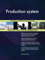 Production system Complete Self-Assessment Guide